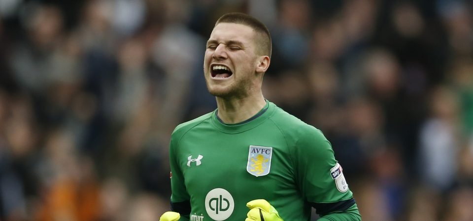 Aston Villa fans were in awe of Sam Johnstone on Tuesday night