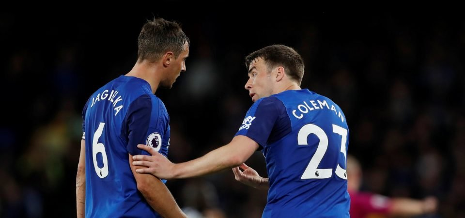 Man United fans urge club to sign Seamus Coleman from Everton this summer