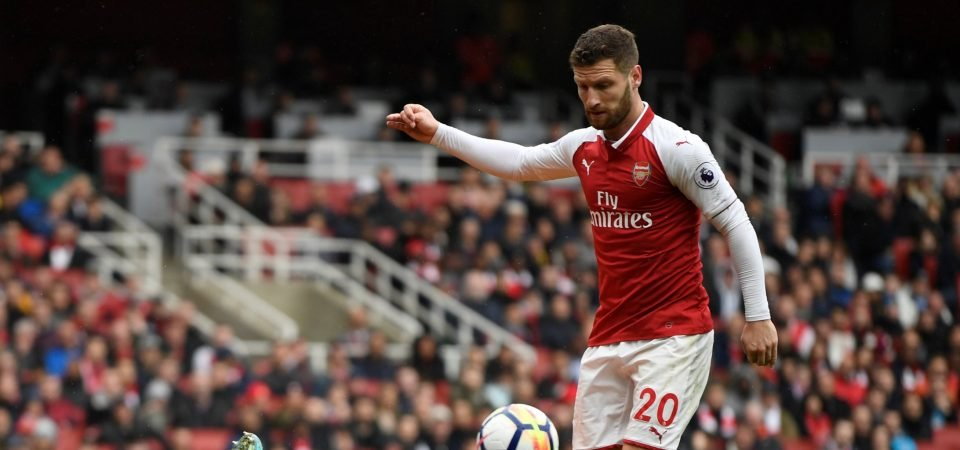 Arsenal fans have had enough of Mustafi after Newcastle defeat