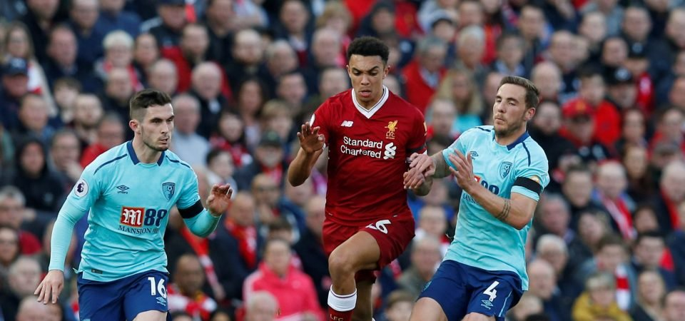 Liverpool fans were in awe of Trent Alexander-Arnold during win vs Bournemouth