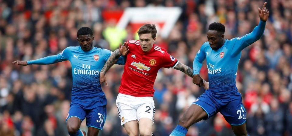 Man United fans loved Lindelof's performance against Arsenal