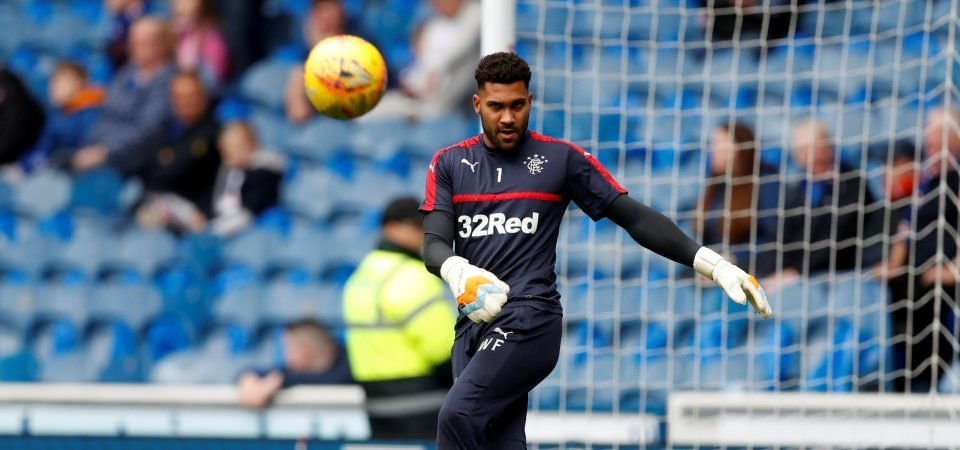 Rangers fans don't want Wes Foderingham to leave the club
