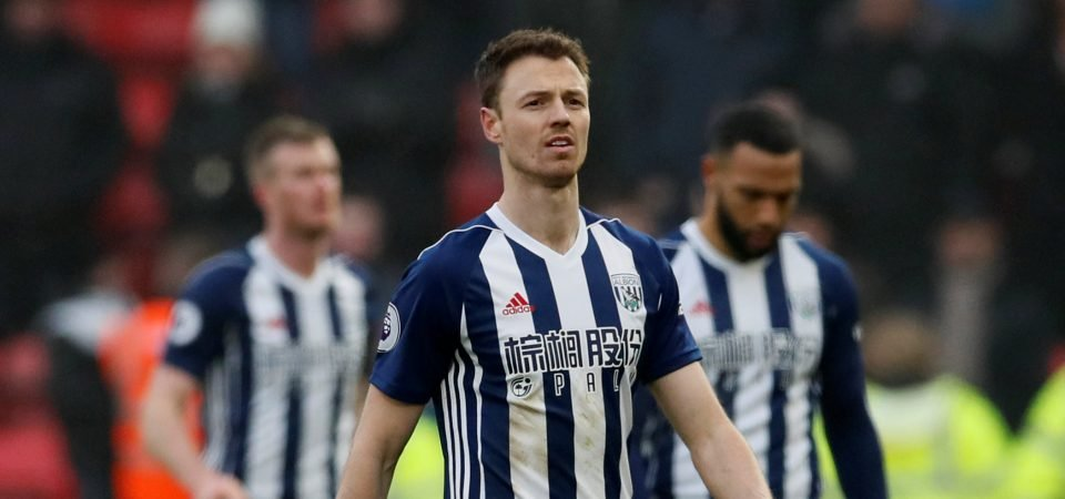 Revealed: Arsenal fans don't think Jonny Evans would be good Koscielny replacement