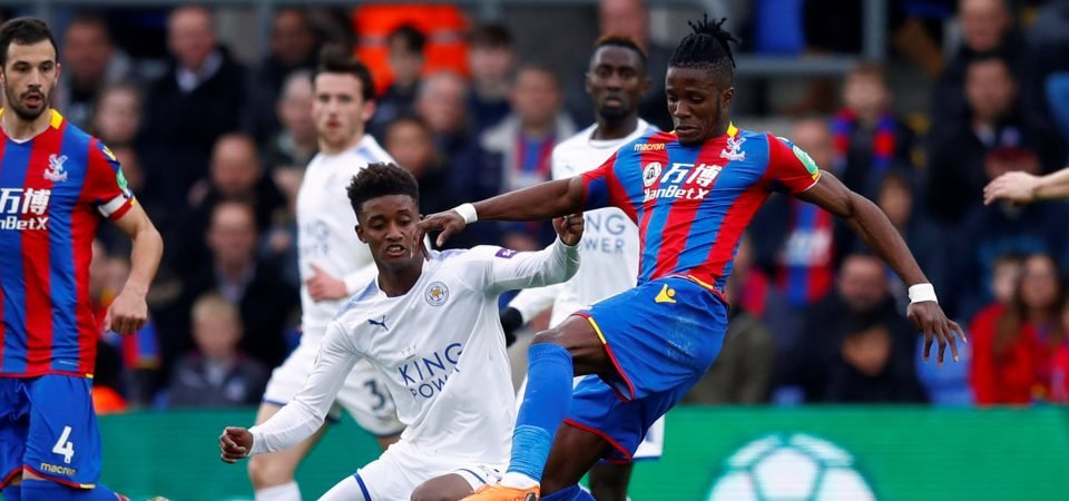 Chelsea fans are eager to sign Wilfried Zaha after another impressive performance