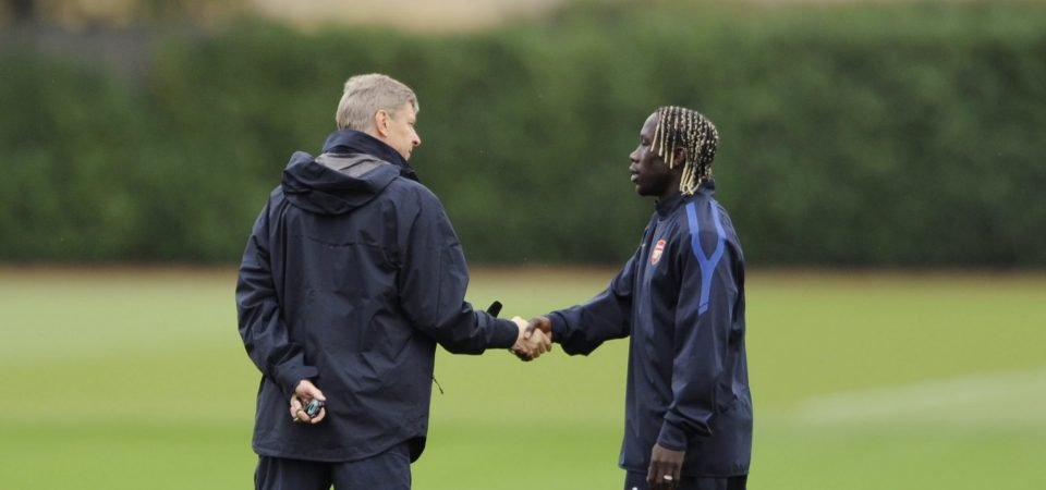 Exclusive: Sagna says Wenger has made a huge footprint in football