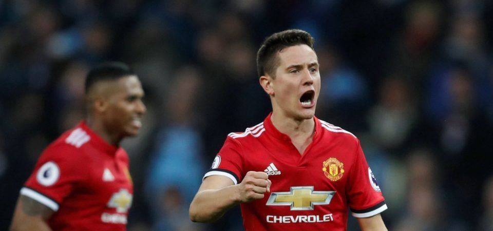 Ander Herrera must leave United in January for his own benefit