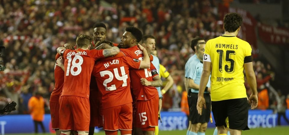 Liverpool fans reminisce on two-year anniversary of Dortmund comeback