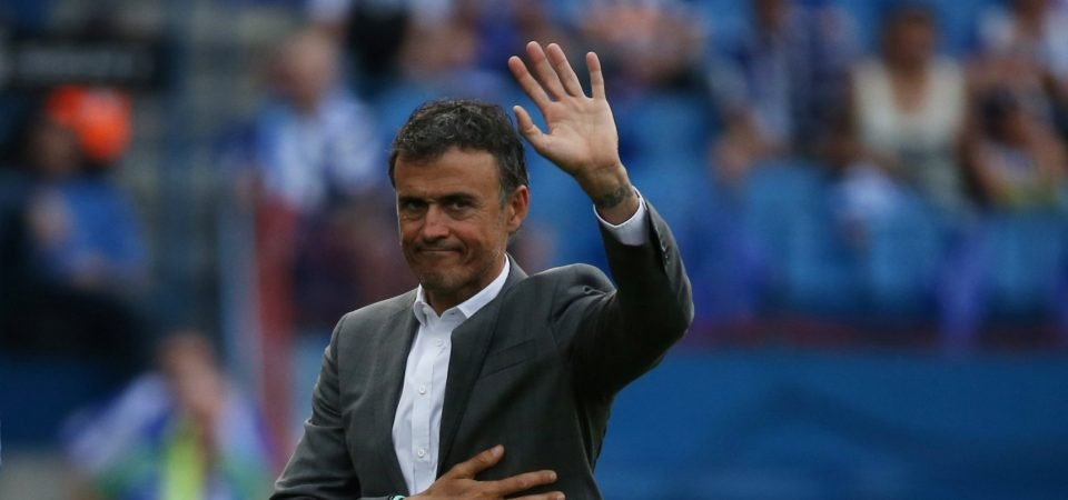 Lauren thinks Luis Enrique would fit in perfectly at Arsenal