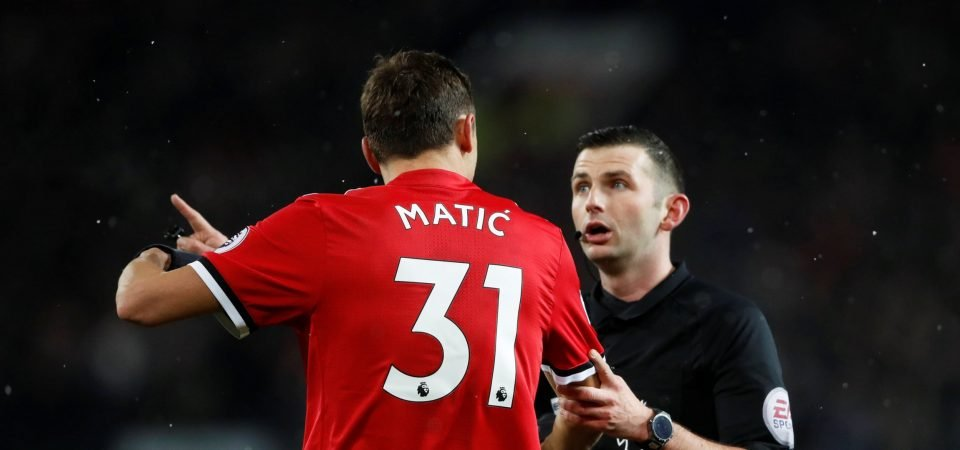 Man United fans fume about FA Cup final referee announcement