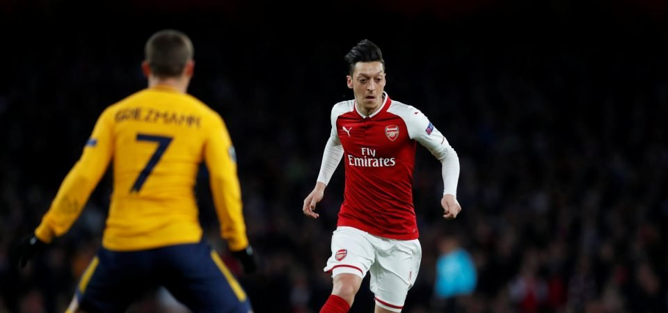 Arsenal need a repeat performance from Ozil to defeat Atletico against the odds