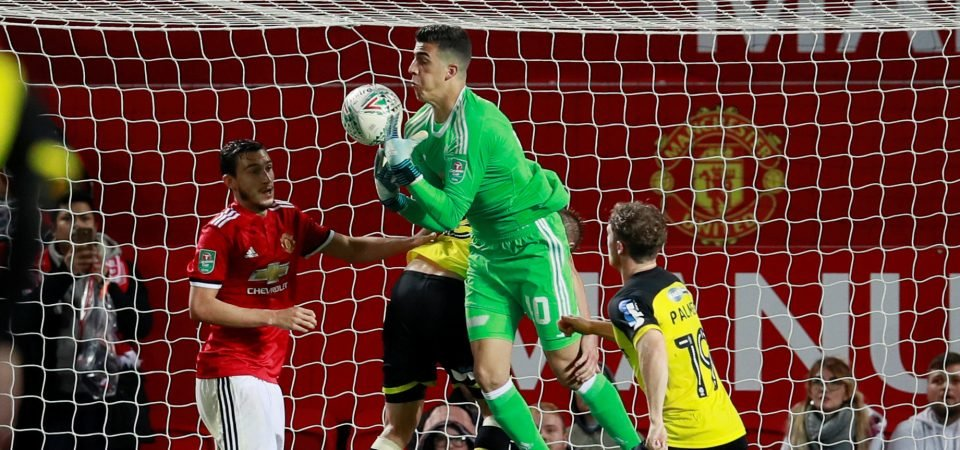 Joel Pereira posts picture with Man United goalkeepers on Instagram