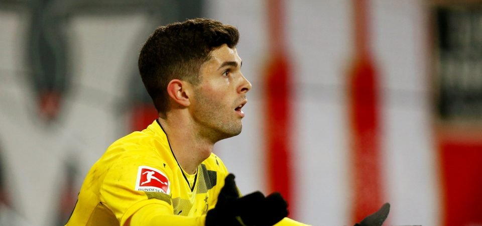 Tottenham Hotspur would benefit from Pulisic's versatility