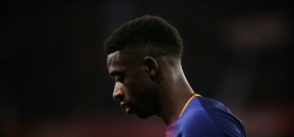 A swap deal involving Martial and Dembele would be pointless for Manchester United