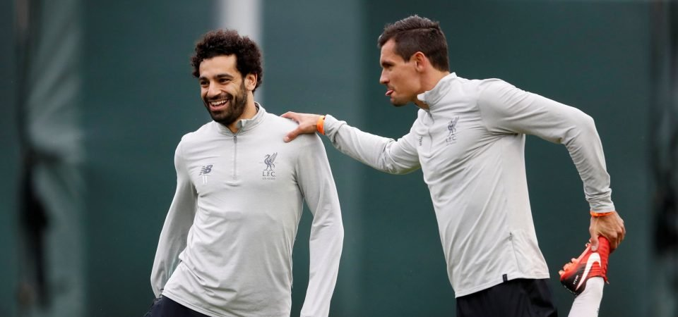 Liverpool fans adore the unlikely friendship between Salah and Lovren