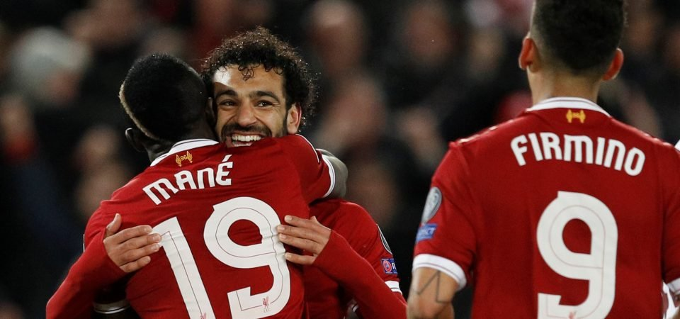 """Salah and Mane labelled """"horrendous"""" by former Liverpool midfielder"""