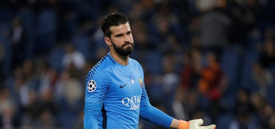 Liverpool at risk of losing to Real Madrid again, but this time in chase for Alisson