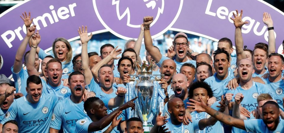 Rival fans play down Manchester City's record-breaking season on Twitter