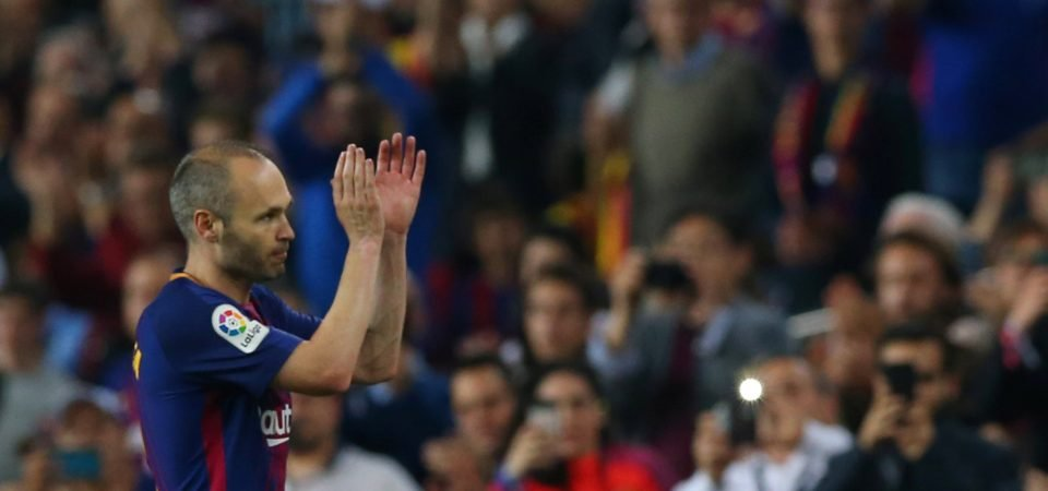Manchester City fans urge Guardiola to replace Arteta with Iniesta