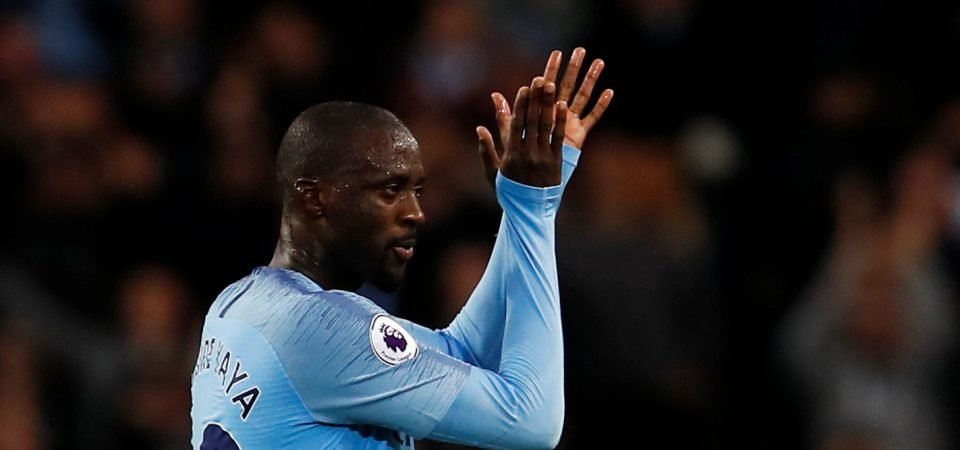 Fans divided over potential Yaya Toure move to West Ham