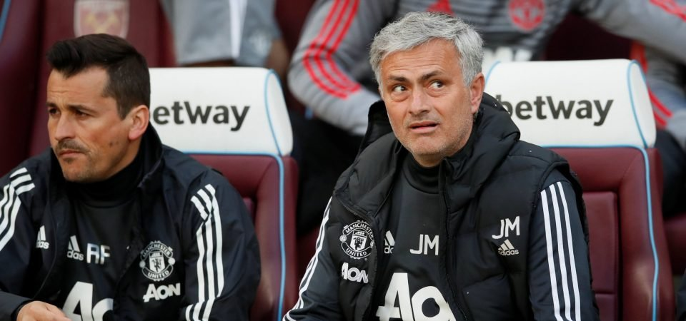 Manchester United fans digest news that Mourinho will not replace Faria