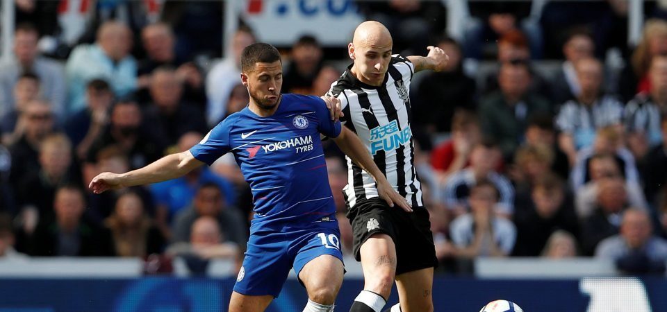 Newcastle fans fume as Shelvey set to miss out on World Cup