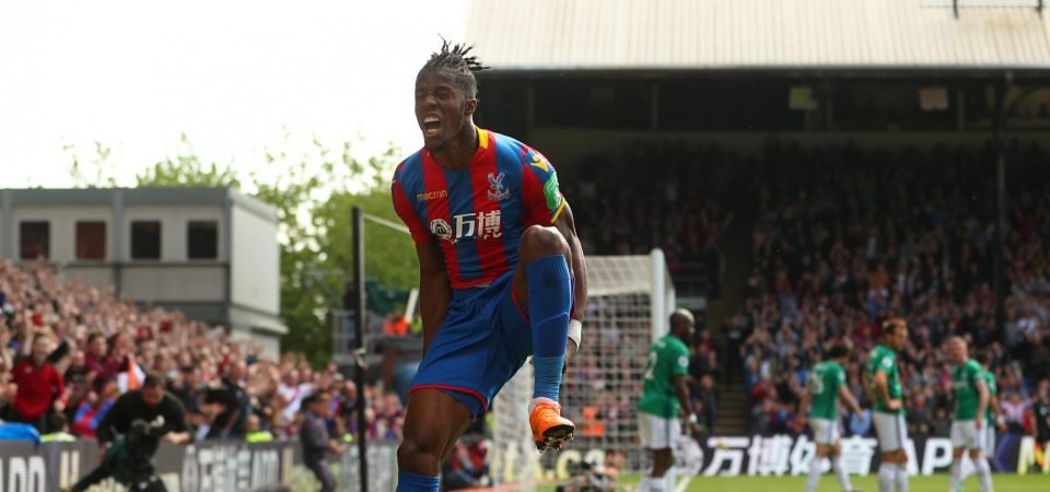 Manchester City keeping tabs on Zaha, fans react