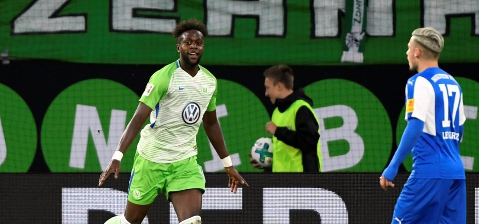Liverpool fans impressed by Origi's performance for Wolfsburg