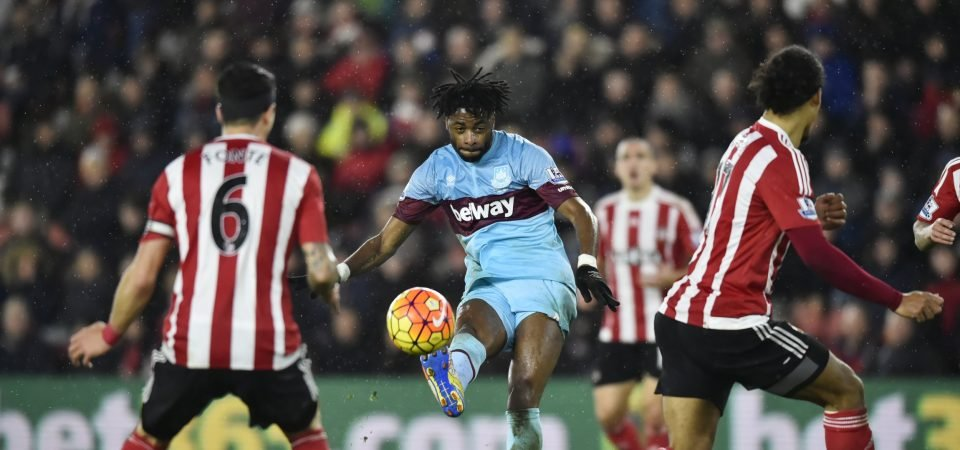 West Ham fans react as Alex Song posts picture wearing an Irons shirt