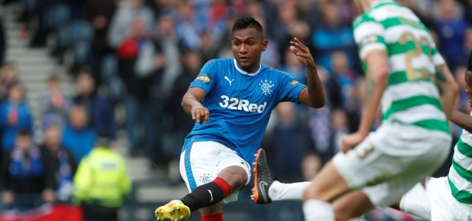 Letting Alfredo Morelos leave on loan doesn't make much sense for Rangers