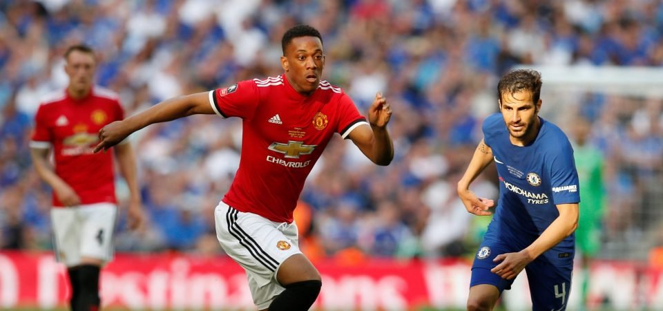 Tottenham fans beg Levy to pursue Martial