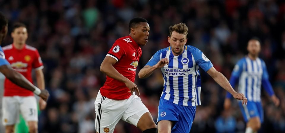 Liverpool fans urge club to sign Anthony Martial despite poor Brighton display