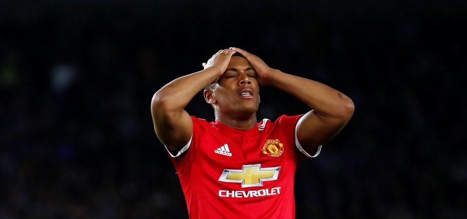Jose Mourinho cannot afford to lose Anthony Martial now he can't sign a replacement