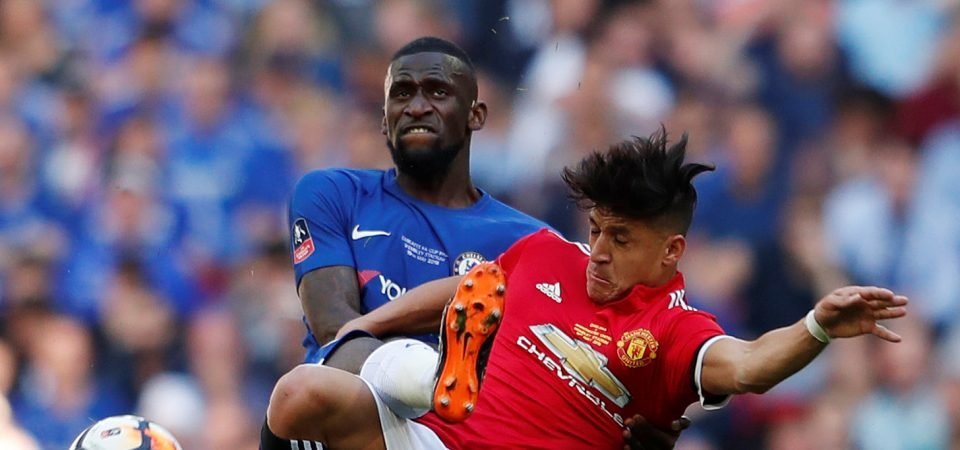 Rudiger ends impressive debut Chelsea season with formidable performance in FA Cup final