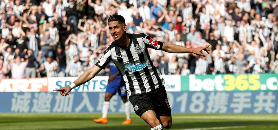 Newcastle fans all agree Perez must stay on Tyneside