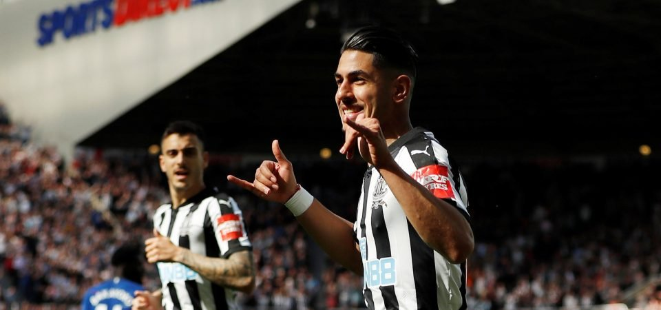 If Ayoze Perez keeps his form up Newcastle will lose him to one of the top six clubs