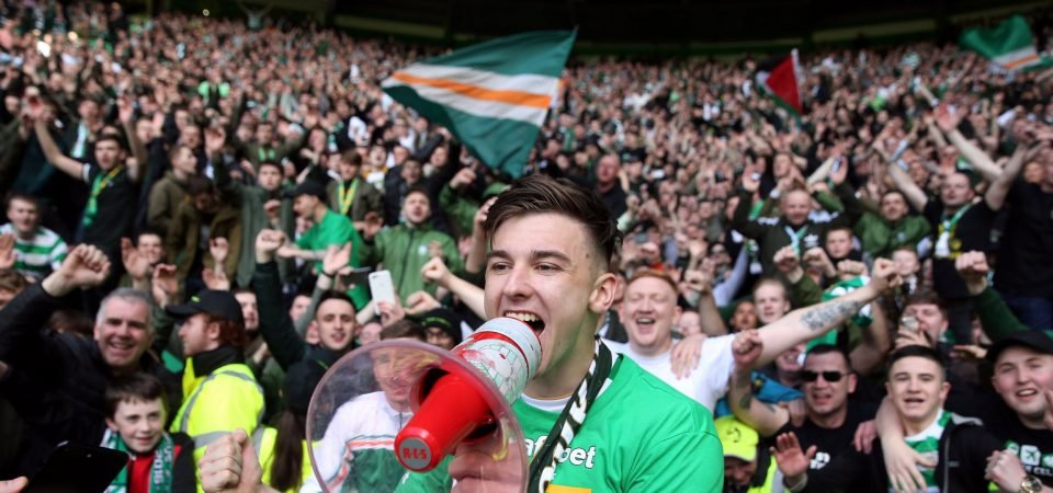 Revealed: 68% of Celtic fans wouldn't sell Tierney for £30m asking price