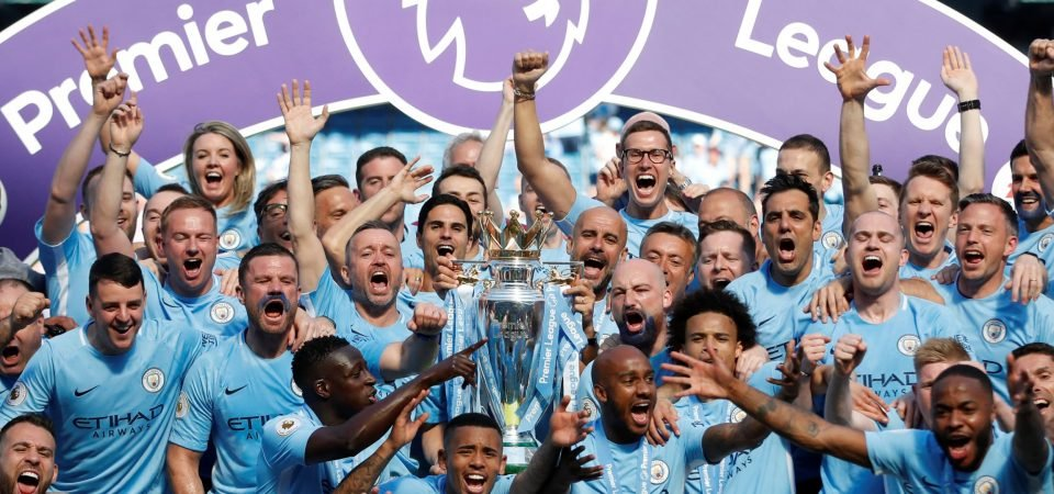 Man City fans react on Twitter as champions lift the trophy
