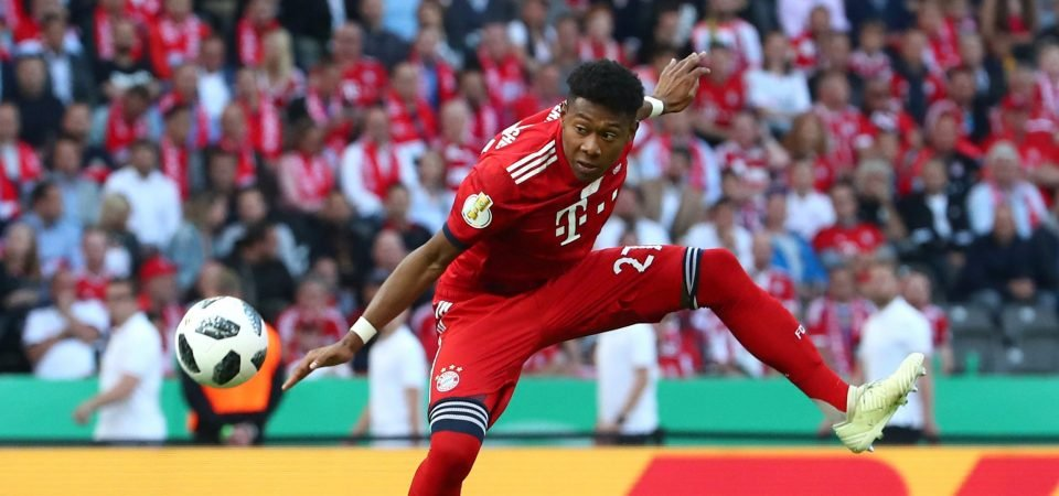 Alaba hints at Arsenal move after surprise Gunners revelation