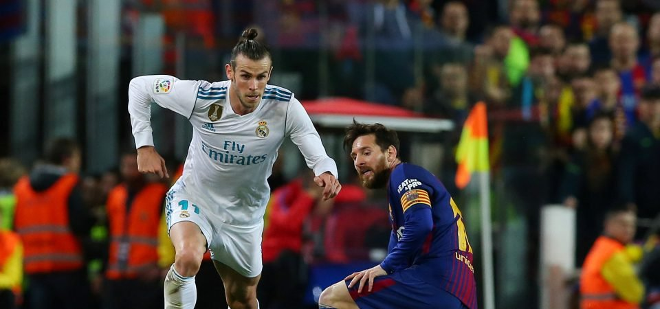 Man United fans are eager to sign Gareth Bale after his El Clasico equaliser