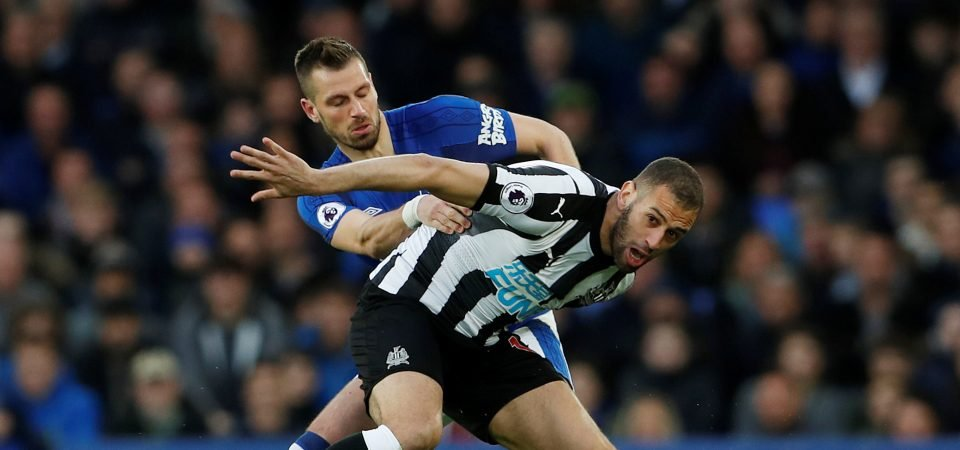 Newcastle fans laugh off Slimani asking price