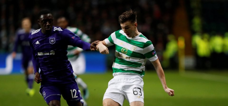 Man United shouldn't be put off by Kieran Tierney's £30m valuation
