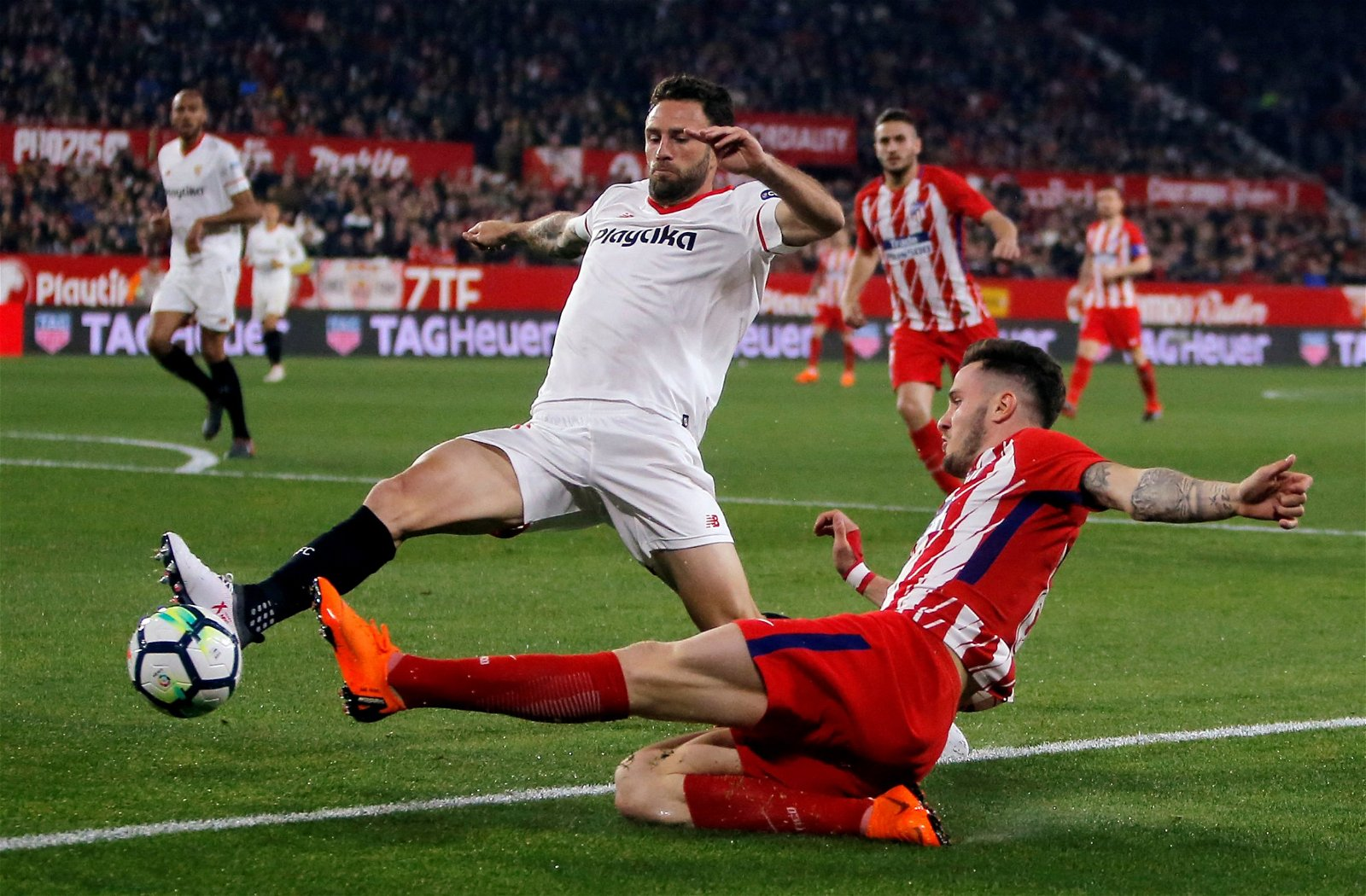 Layun in action for Sevilla