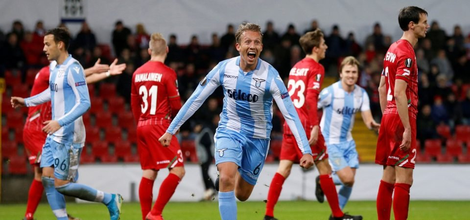 Liverpool fans react as Lucas shines for Lazio following Anfield departure