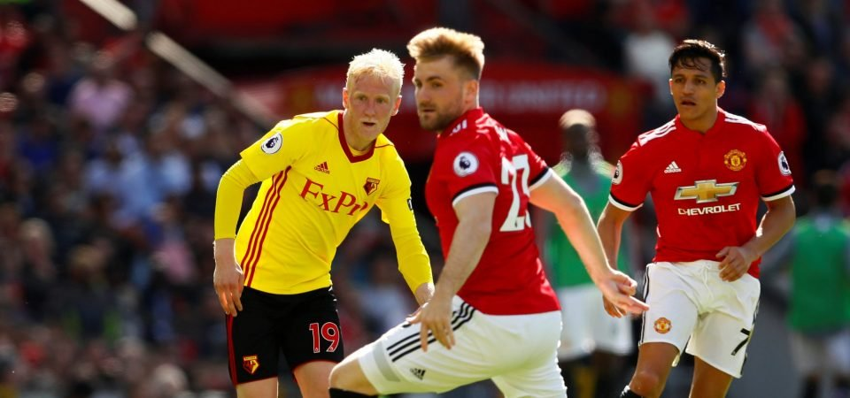 Luke Shaw could have been a viable long-term replacement for Leighton Baines