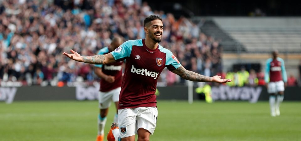 West Ham fans react to claims Lanzini could miss 15 months