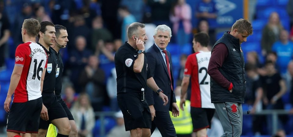 Southampton fans react as Mark Hughes could be hit with FA charge
