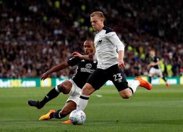 Matej Vydra in action against Fulham