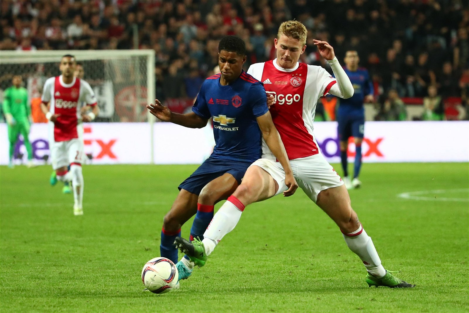 Matthijs de Ligt in action for Ajax