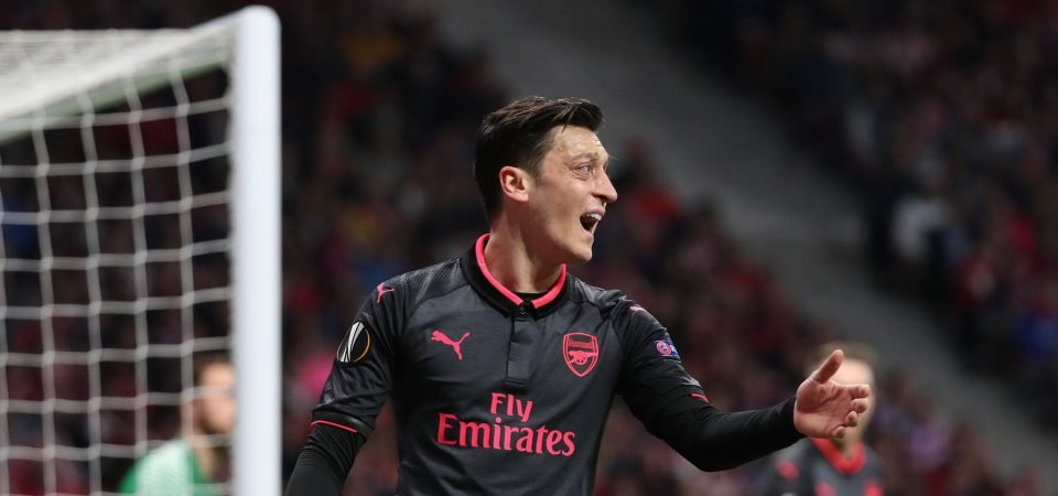Arsenal fans not convinced by Ozil being handed number 10 shirt