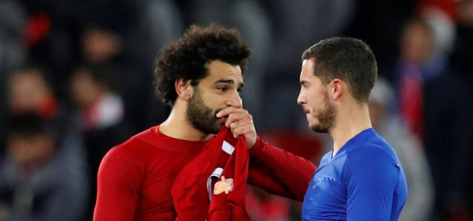 Chelsea fans slam comparisons between Salah and Hazard following Liverpool's win over PSG